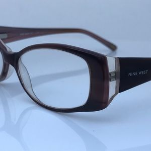 Nine West Women Eyeglasses Frame CU7 135 52[]15